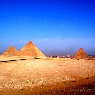Pyramids at Giza, Cairo, Egypt